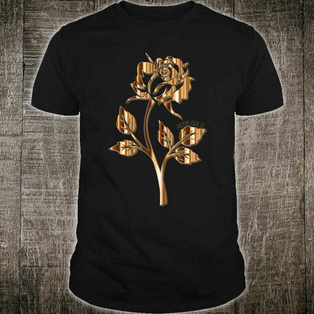 Rose Gold Rose Shirt