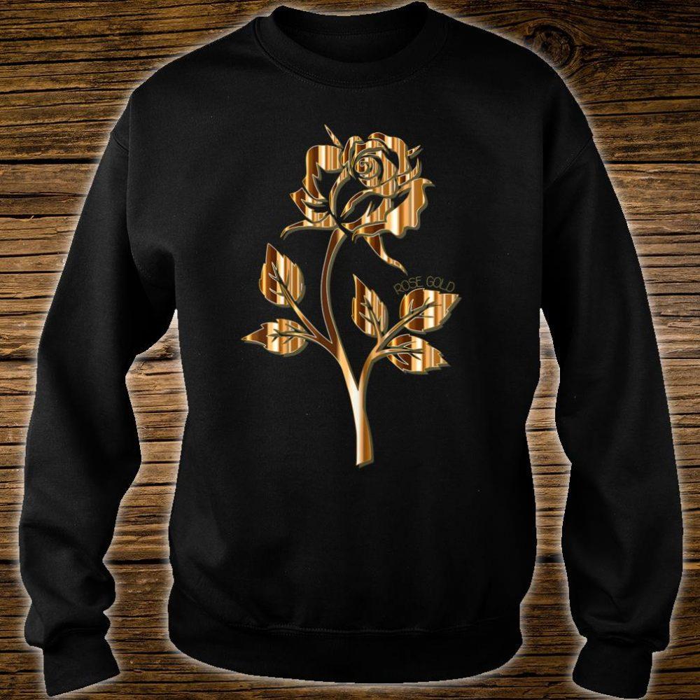 Rose Gold Rose Shirt sweater