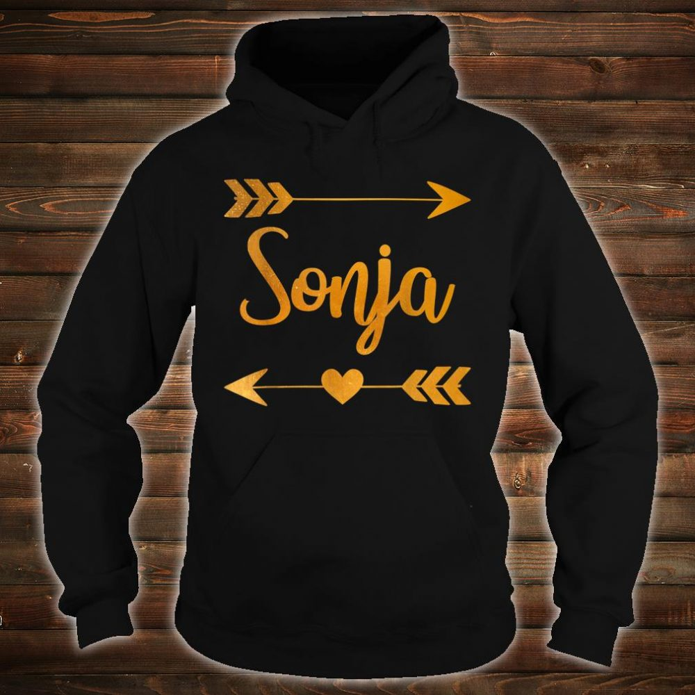 SONJA Personalized Name Shirt hoodie