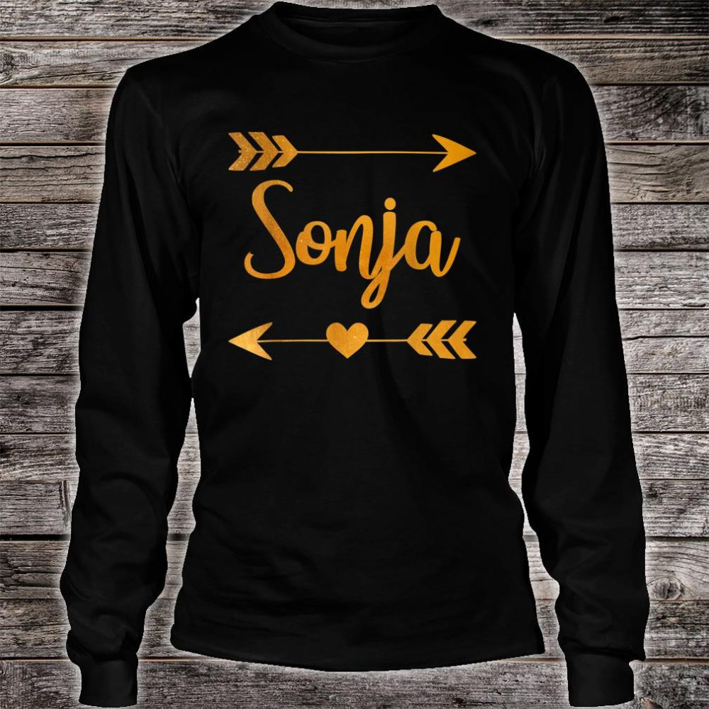 SONJA Personalized Name Shirt long sleeved