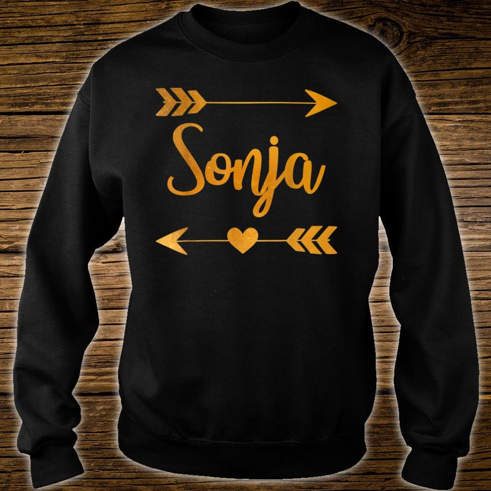 SONJA Personalized Name Shirt sweater