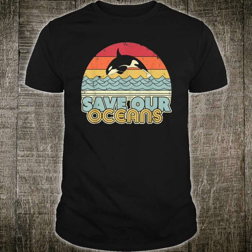 Save Our Oceans, Orca Whale Shirt