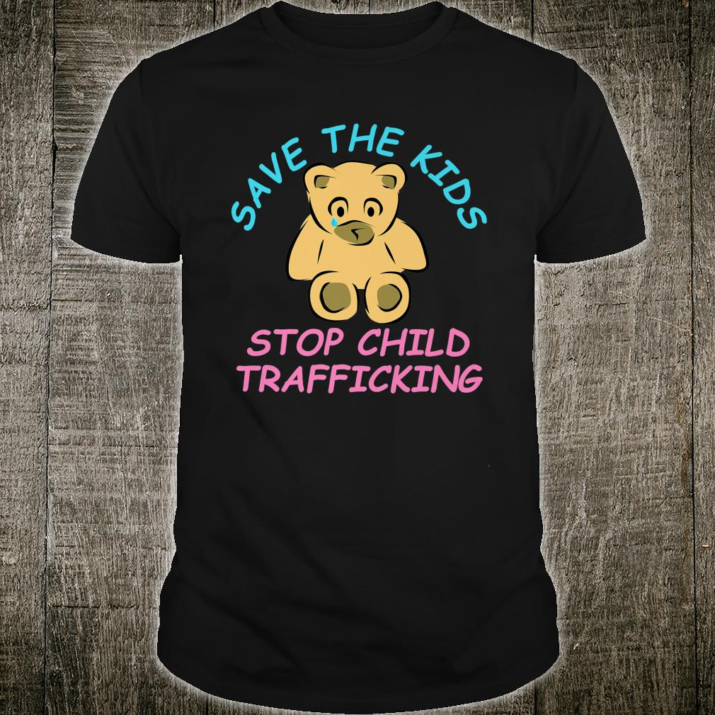 Save The Kids End Child Trafficking Now Shirt
