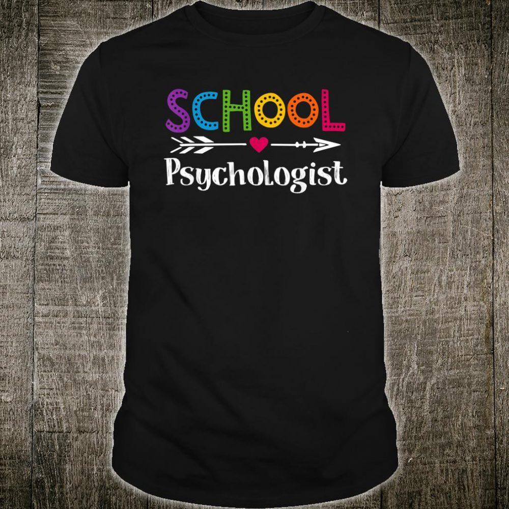 School Psychologist Shirt