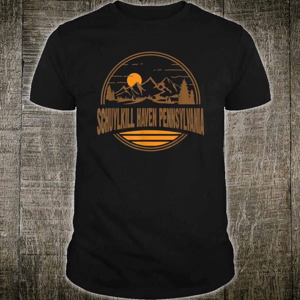 Schuylkill Haven Pennsylvania Mountain Hiking Print Shirt