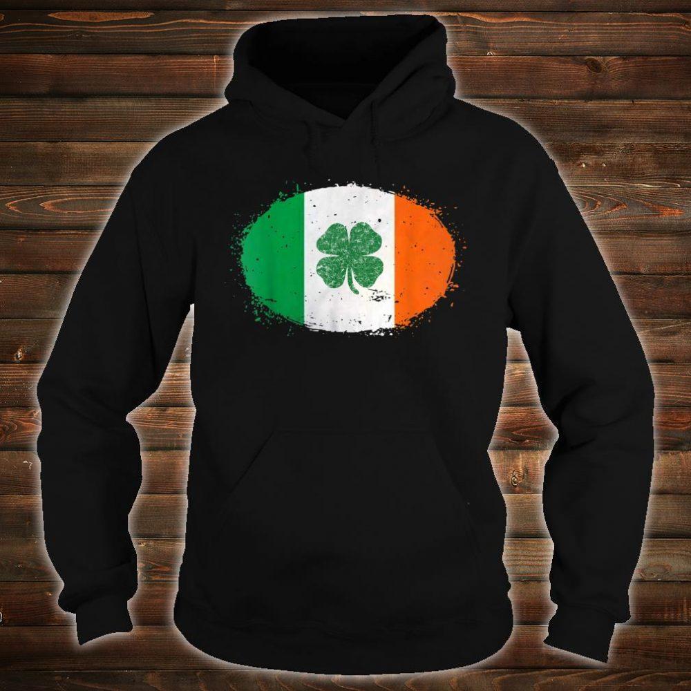 Shamrock Ireland Flag Green St Patricks Day Shirt hoodie