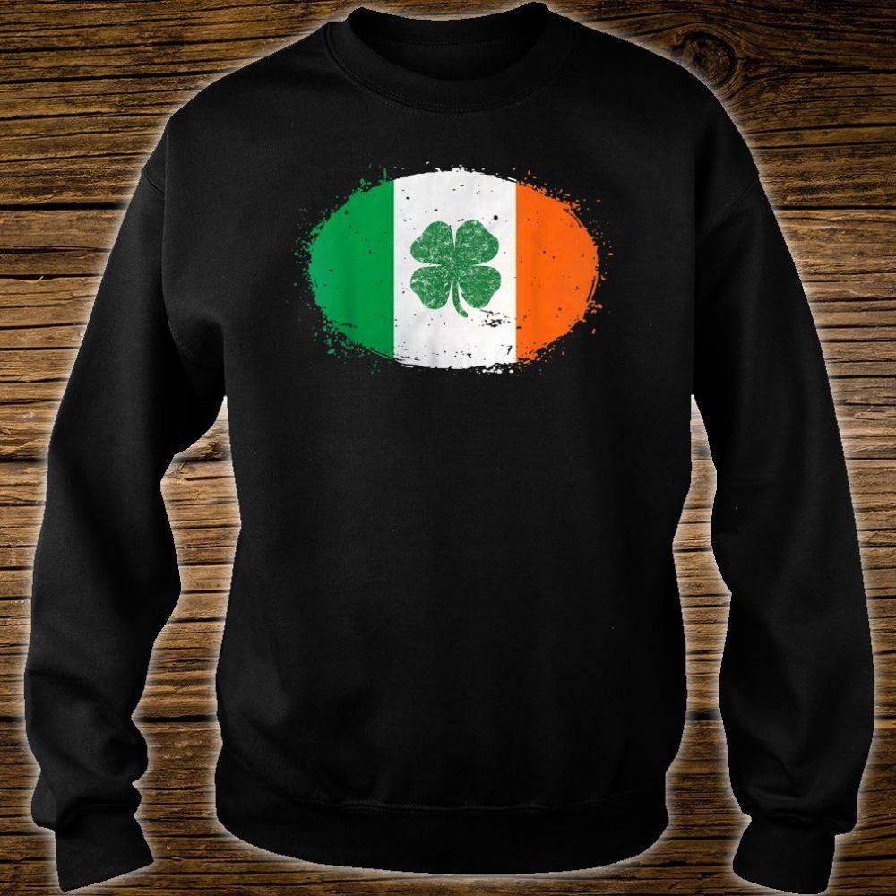 Shamrock Ireland Flag Green St Patricks Day Shirt sweater