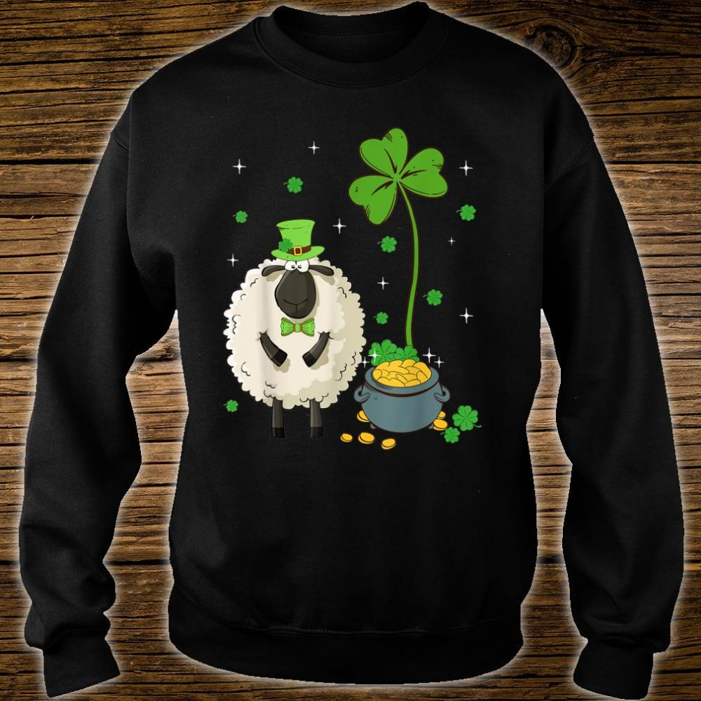 Shamrock Leprechaun Sheep St Patrick's Day Shirt sweater