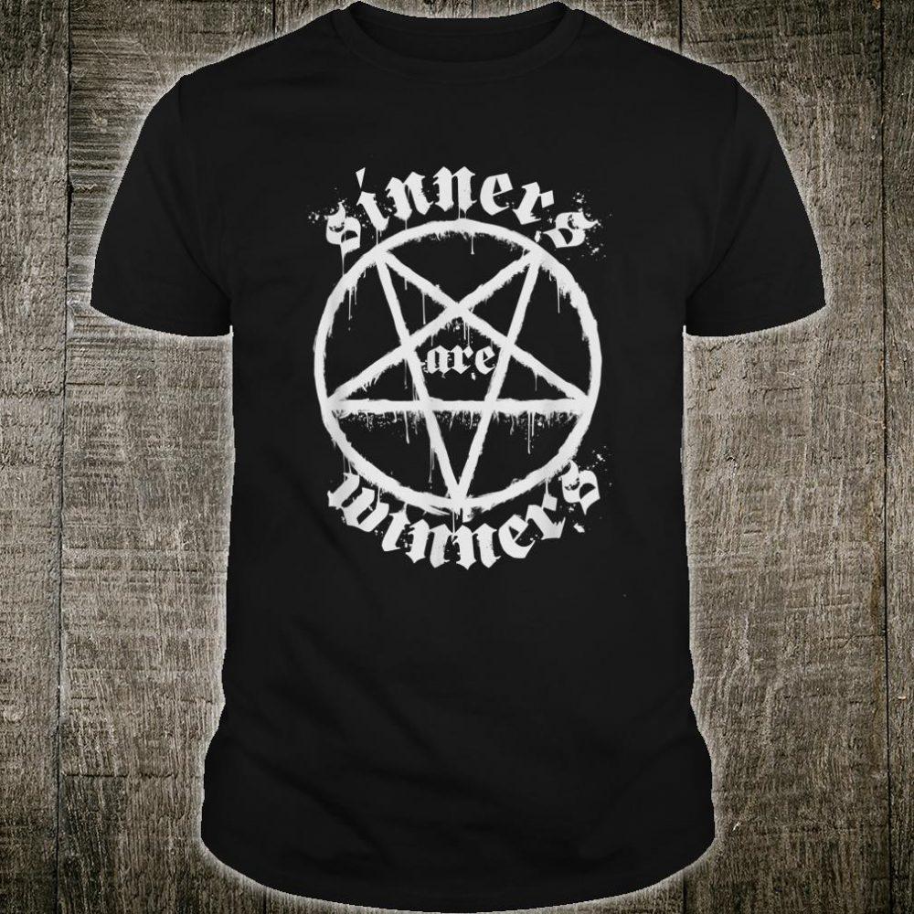 Sinners Are Winners Death Metal Satanist Shirt
