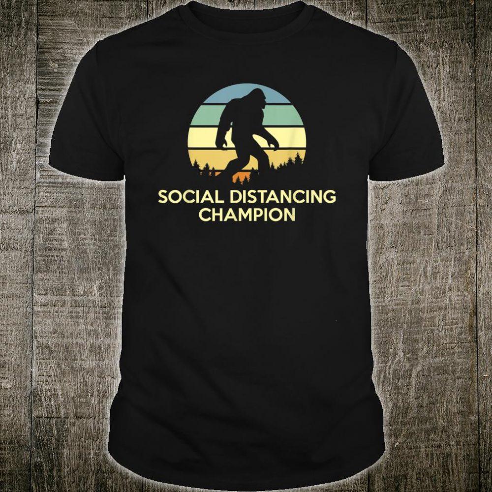 Social Distancing Champion Shirt