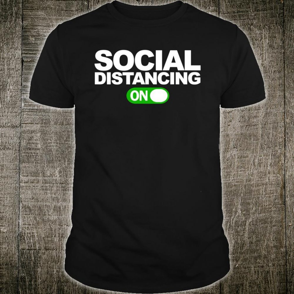 Social Distancing On Shirt