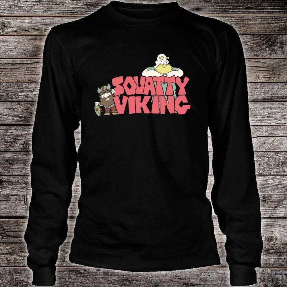 Squatty Viking Shirt long sleeved