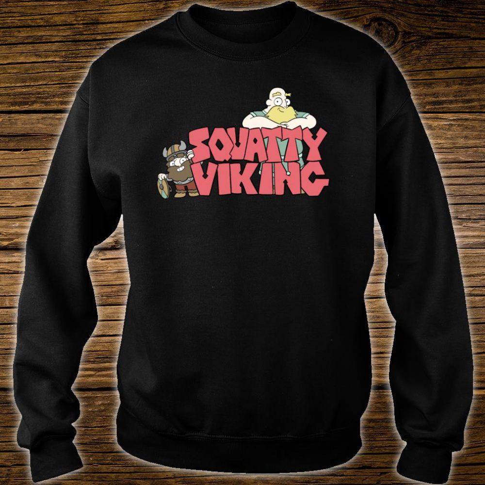 Squatty Viking Shirt sweater