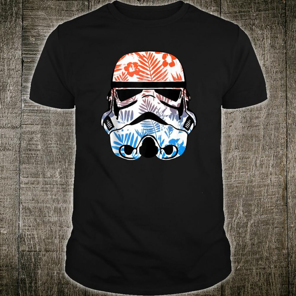 Star Wars Stormtrooper Tropical Helmet Shirt