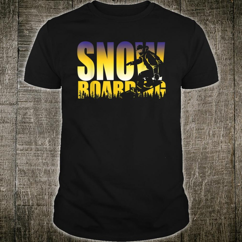 Steezy Snowboarding Gnarly Shirt