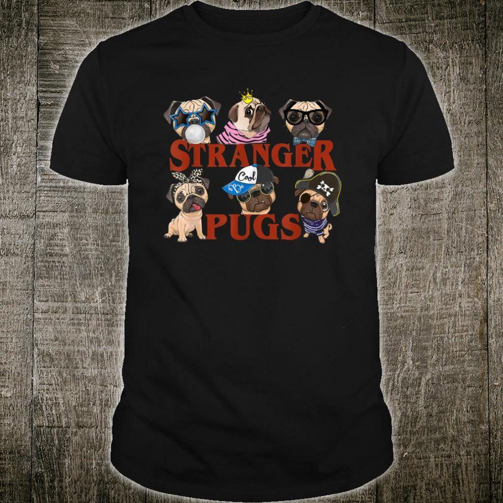 Stranger.pugs Things Halloween costume Shirt