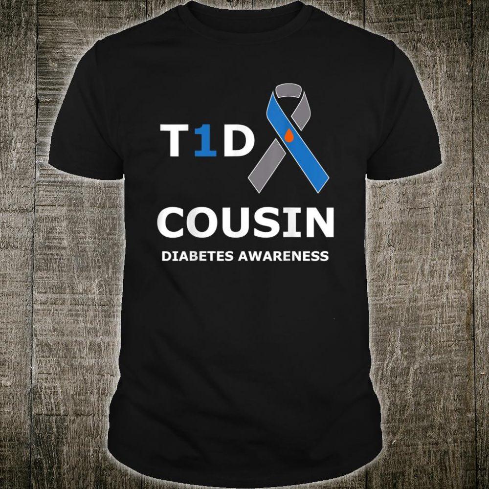T1D Cousin Diabetes Awareness Shirt