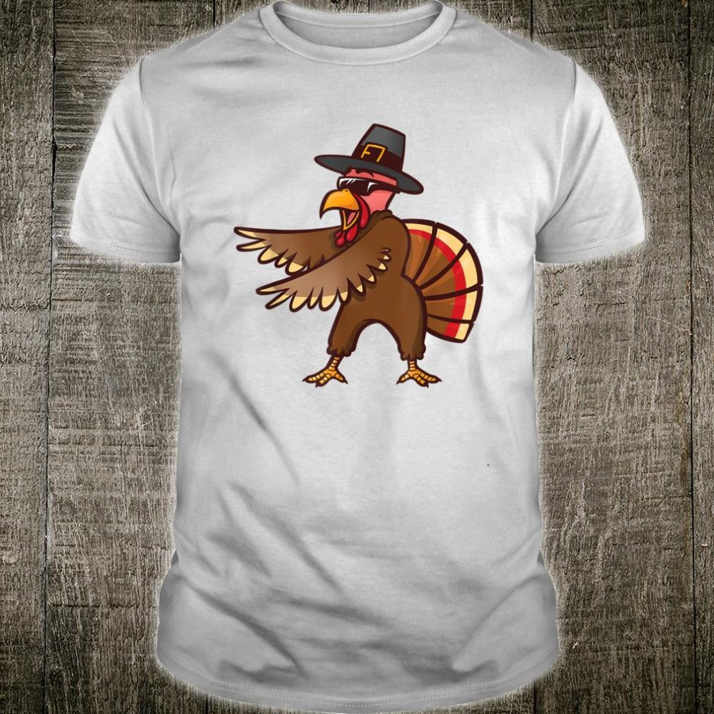 Thanksgiving Flossing Turkey Pilgrim Shirt