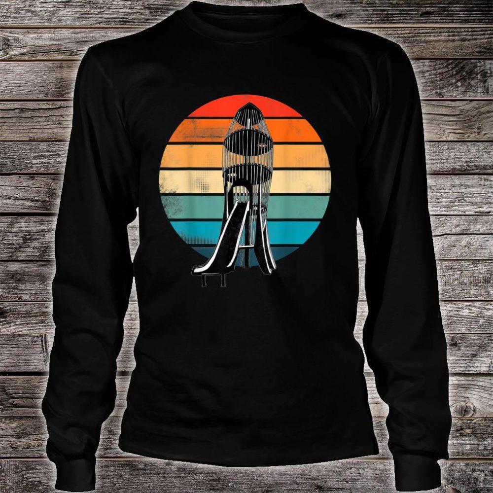 The Rocket! Childhood playground memories. Shirt long sleeved