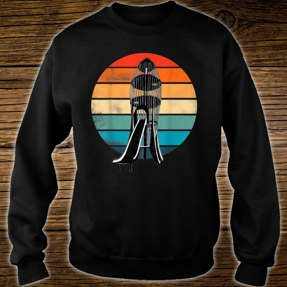 The Rocket! Childhood playground memories. Shirt sweater