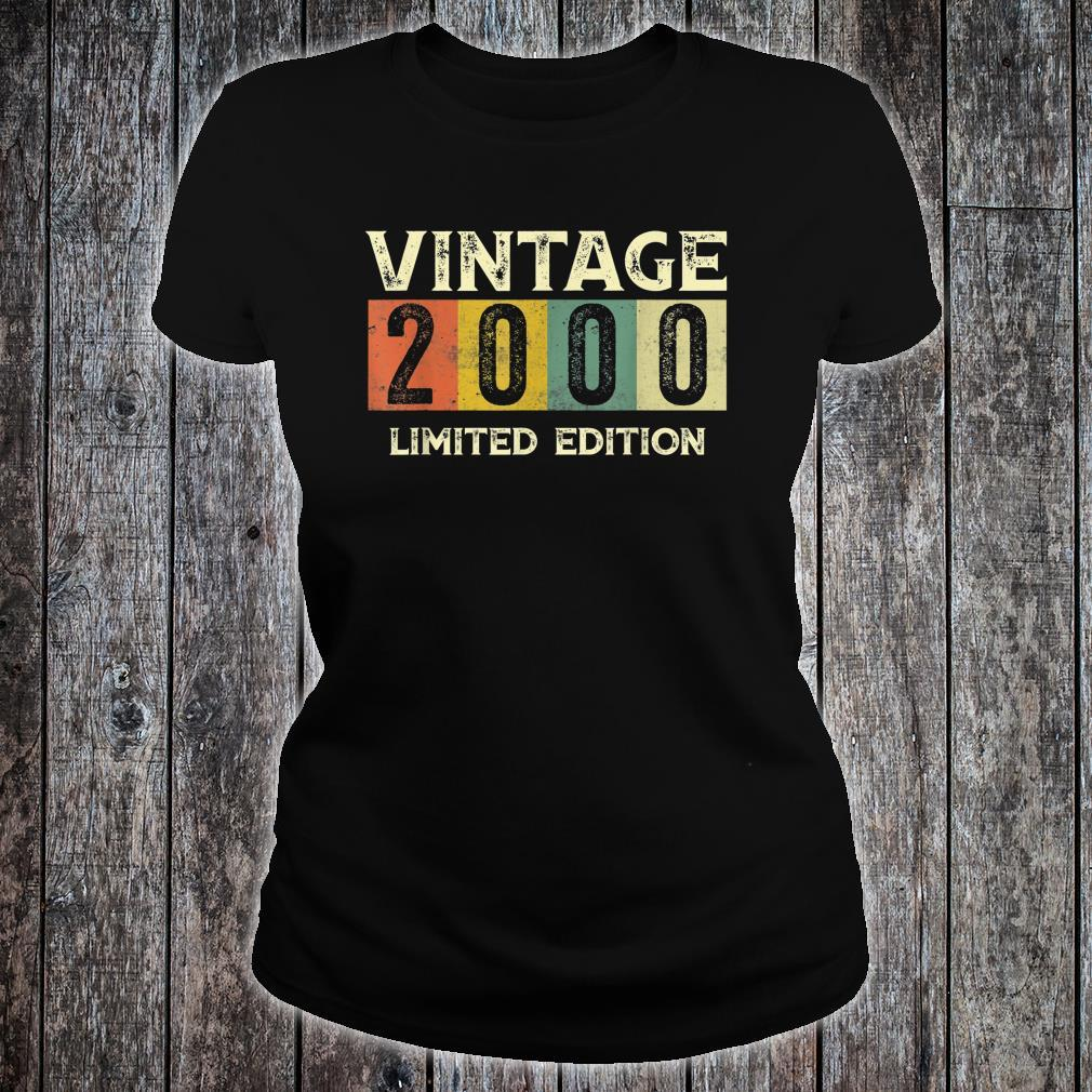 Vintage 2000 Limited Edition 21st Birthday Shirt ladies tee