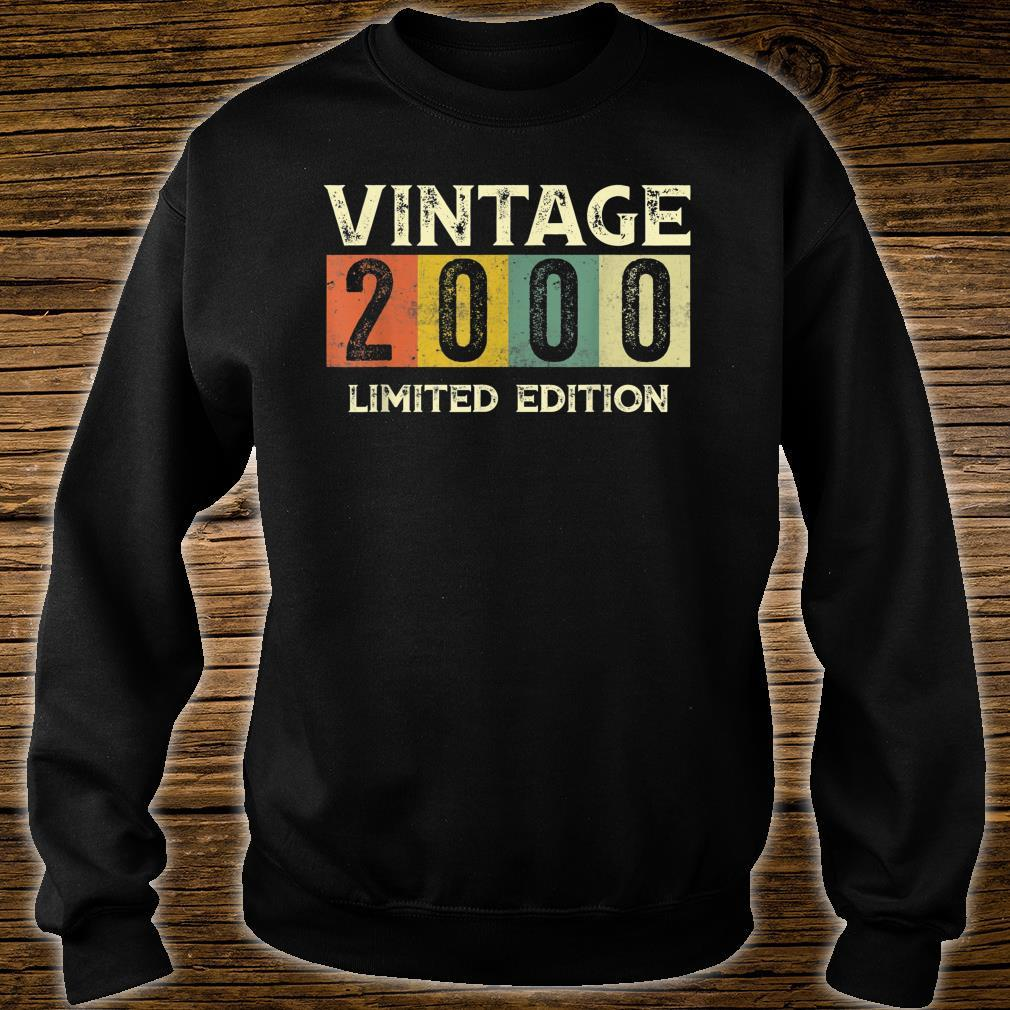 Vintage 2000 Limited Edition 21st Birthday Shirt sweater