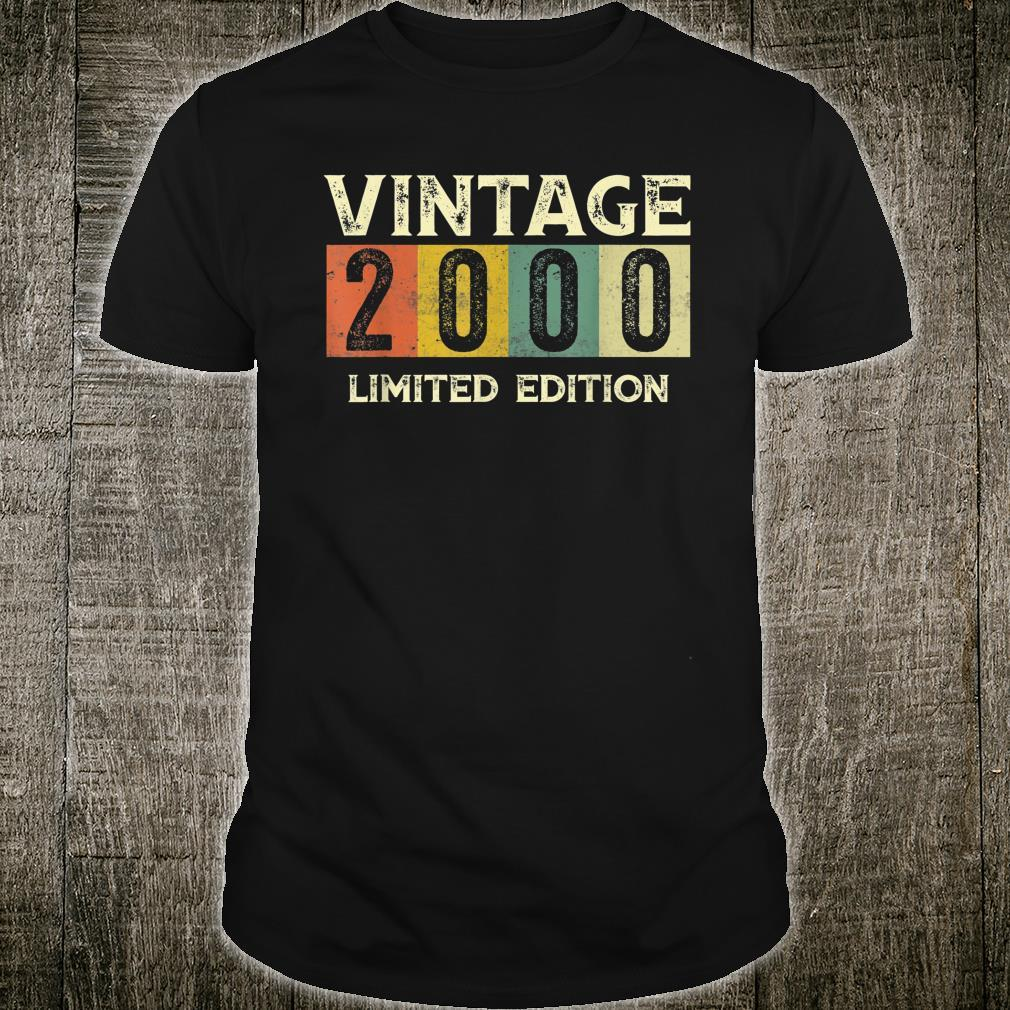 Vintage 2000 Limited Edition 21st Birthday Shirt