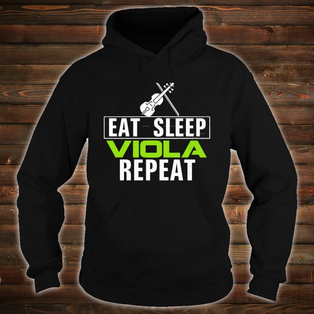 Vintage Eat Sleep Viola Repeat Music Orchestra Shirt hoodie