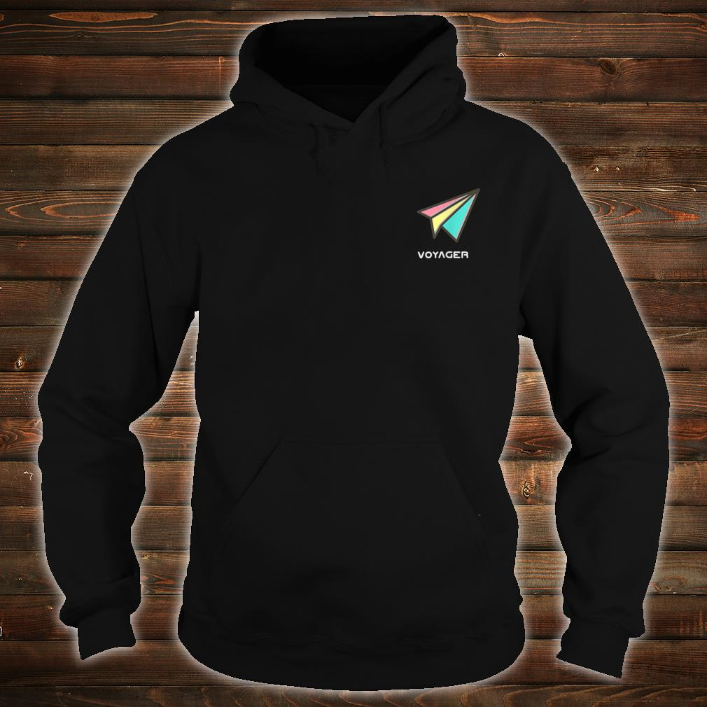 Voyager Sounds Pastel Paper Plane Shirt hoodie