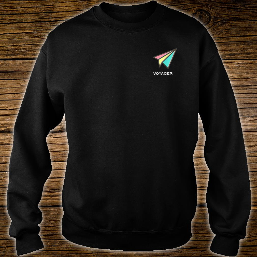 Voyager Sounds Pastel Paper Plane Shirt sweater