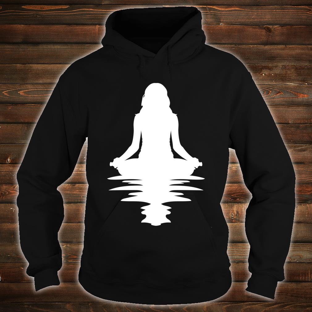 Yoga Or Meditating By The Water Birthday Shirt hoodie