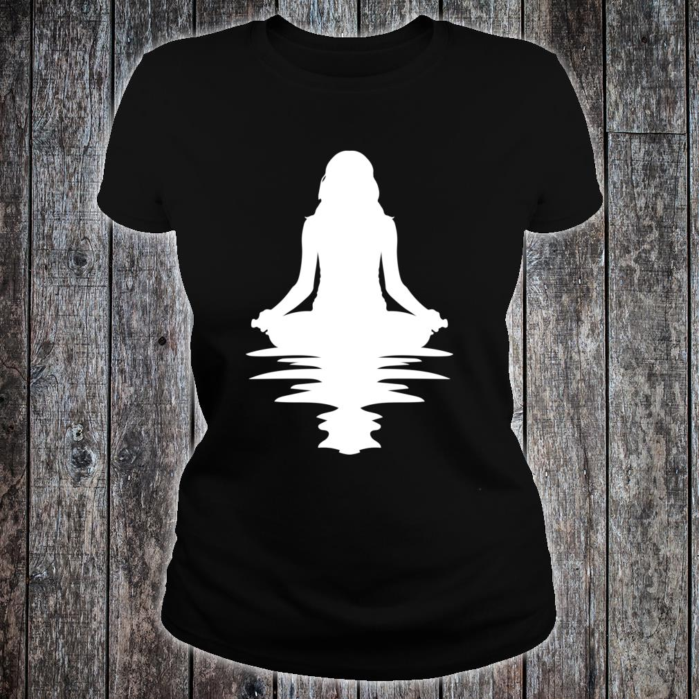 Yoga Or Meditating By The Water Birthday Shirt ladies tee