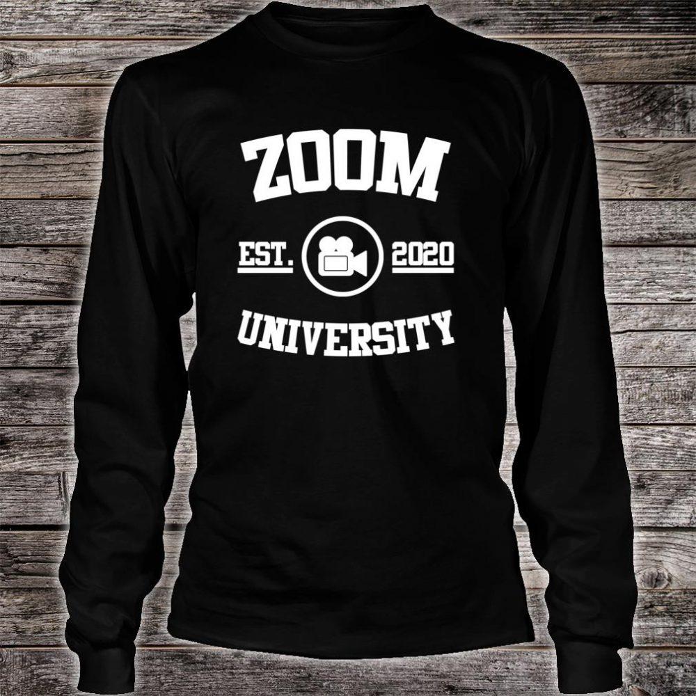Zoom University Shirt long sleeved